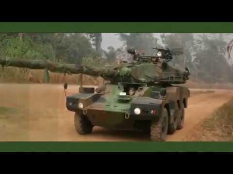 Panhard ERC 90 SAGAIE 6x6 Amphibious Armored Combat Vehicle