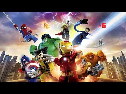 Cùng chơi Lego Marvel Super Hero #6:Nhà của Iron Man bị hấp!!!