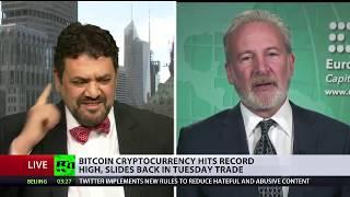 🔴 Peter Schiff Debates on Bitcoin, Blockchain, Gold