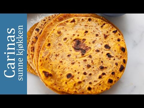 Sweet Potato Tortilla/Søtpotet tortilla