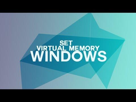 How to Set Virtual Memory on Windows 8/8.1