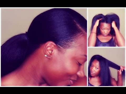 Relaxed Hair: DIY Make Your Own Hot Oil With Me!!