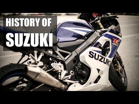 Suzuki Motorcycles - History | Full Documentary