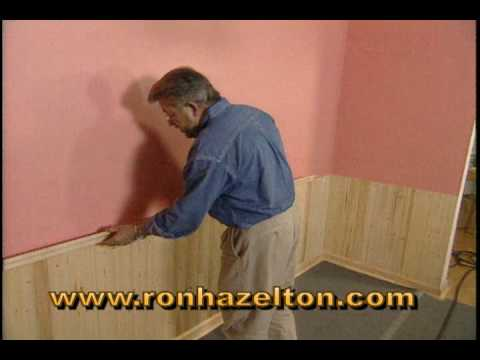 How to Install Wainscotting