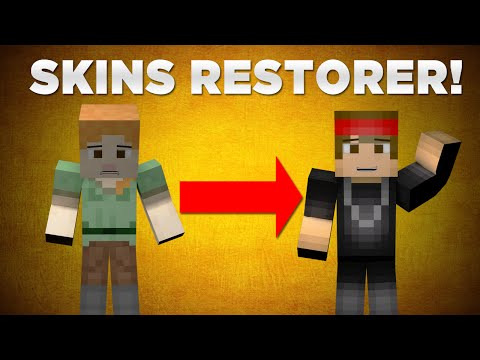 How to Fix and Restore your 1.8 Minecraft skin! (For Servers) QUICK!