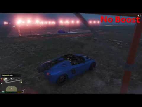 GTA 5 Airport Drag Race (Rocket Voltic vs. Coil Voltic) With and No Boost