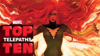Top 10 Telepaths -- Marvel Top 10