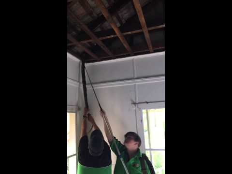 Snake Removal, How to get a snake out of a ceiling!