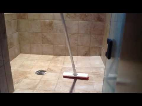 Grout Brush With Long Handle Included! Best brush for cleaning tile and grout!