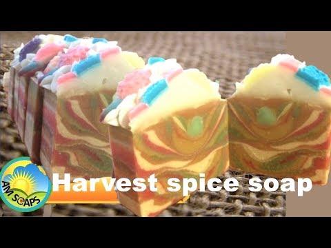 Harvest spice soap