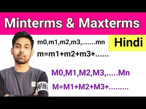 What Is Minterms & Maxterms ? Explain In Hindi By Nirbhay Kaushik