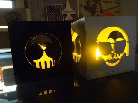 Designer Series: Custom Tea Light Box