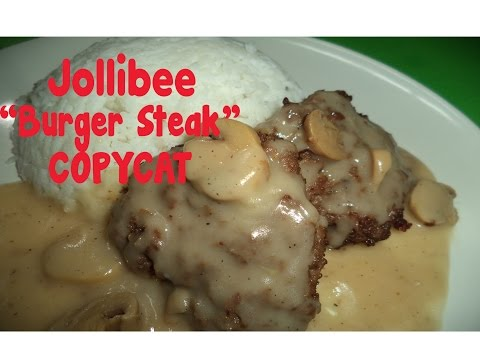 Jollibee Burger Steak - Copycat