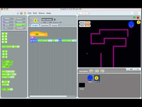 Make a snake game in Scratch, Part 4