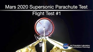 NASA Tests a Supersonic Parachute for Mars   Video