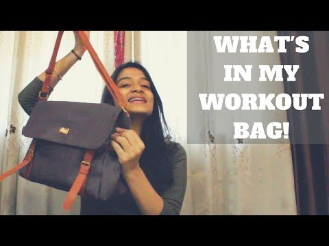 What's In My Bag | Workout Essentials | WORKitOUT | Kritika Khithani