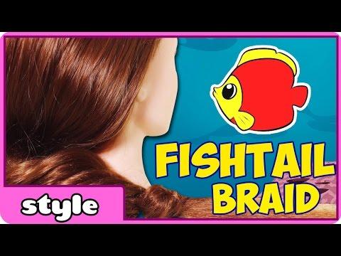 Easy Fishtail Braid Tutorial for Kids