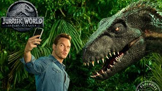 The Animatronics of Jurassic World: Fallen Kingdom - A Look at the Practical Dinosaurs in the Film