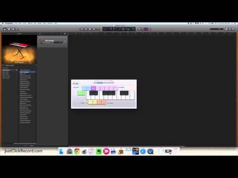 GarageBand - How To Add A Virtual Instrument Track