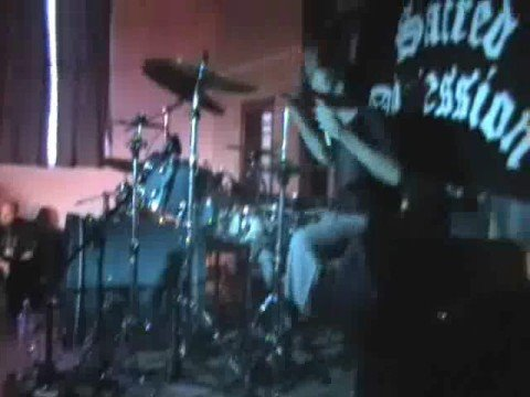 Me Drumming In Sacred Obsession