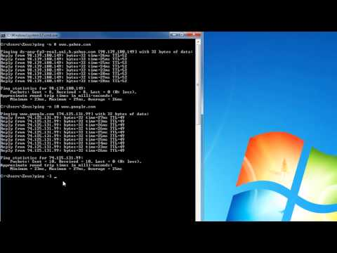 Network Troubleshooting using the PING Command