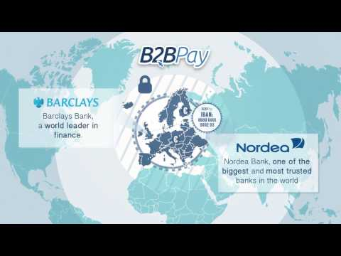 B2B Pay virtual bank account