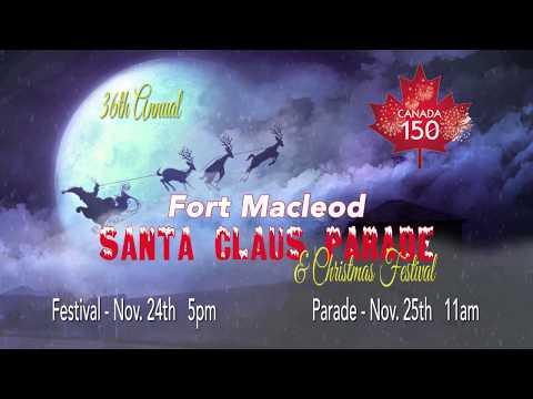 2017 Fort Macleod Santa Claus Parade