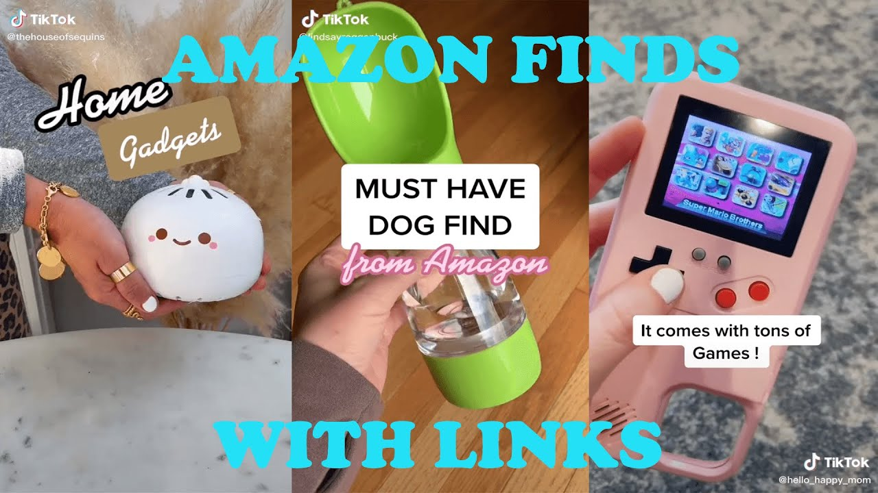 TIKTOK MADE ME BUY IT AMAZON MUST HAVES AMAZON FINDS
