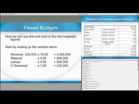 Flexed Budgets