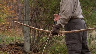How to Build a Survival Bow - Instructional Video Sample
