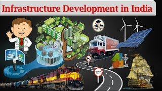 Download Indian Economy - Infrastructure Development in India (11th Economic NCERT) Video