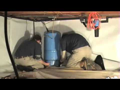 How to install a Crawl Space Vapor Barrier
