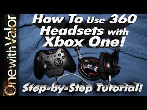 How To Use ANY Gaming Headset with Xbox One (Turtle Beach)