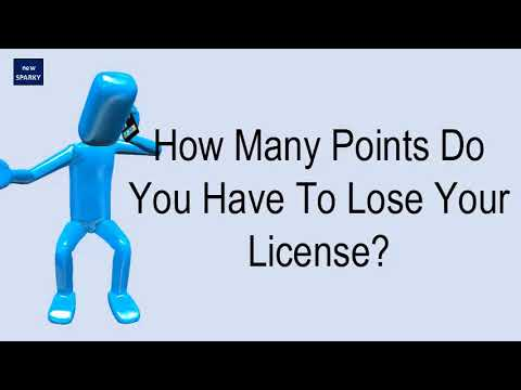 How Many Points Do You Have To Lose Your License?