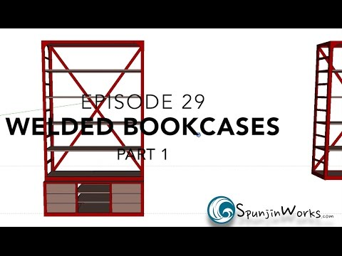 Industrial Bookcases Pt. 1