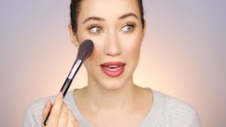 Chatty (for good reason 😱) Travel Makeup