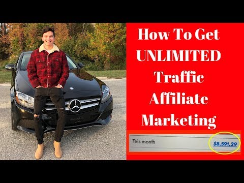 How To Get Unlimited Traffic To Your Affiliate Link And Website!