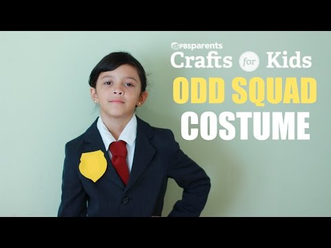 DIY Odd Squad Costume | PBS Parents | Crafts for Kids