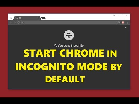 How to Open Google Chrome in Incognito Mode by Default | Simple Method