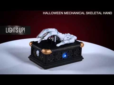 Halloween Moving Mechanical Skeletal Hand