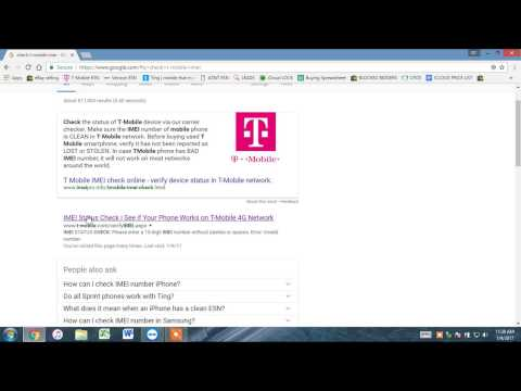 How to Check T-Mobile IMEI - 2017 (that it's clean not blacklisted)