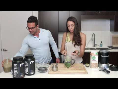 Meal Replacement Shake l Vanilla-Blueberry Protein