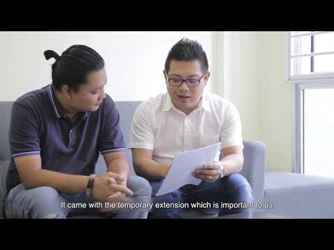 Singapore Client Testimonial For Property Agent Video - Thahir & Tini