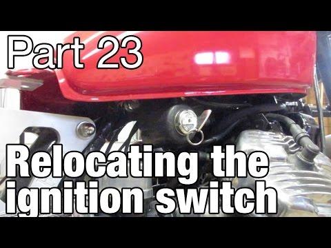 Relocating the ignition switch on the Honda CX500 - Moto Fugazi Build Part 23