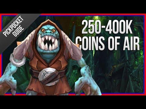 250K-400K COINS PER HOUR | Legion Coins of Air Farming Guide