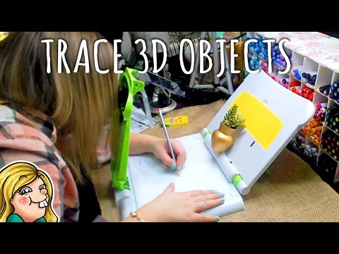 TRACE 3D OBJECTS!   ✎Trying Art Stuff✎