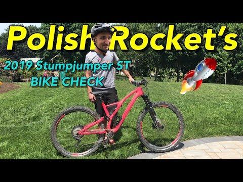 2019 Specialized Stumpjumper Short Travel Bike Check | Polish Rocket's Red Rocket