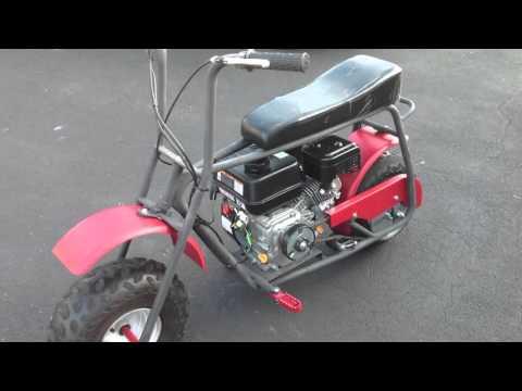 Baja Racer Project: Convert to Predator 212 Motor, Re-Paint MIni Bike