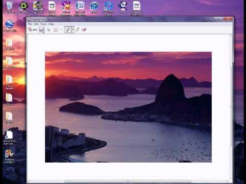 How to Make a screenshot on WINDOWS 7!