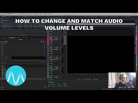 How to Change and Match Audio Volume Levels